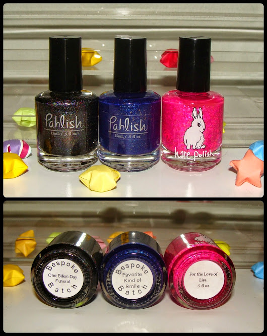 Shelby Lou Nails Giveaway!!! Pahlish & Hare OMG!!