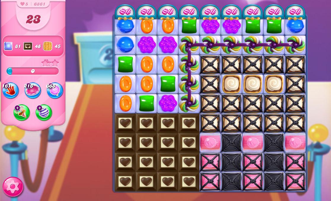 Candy Crush Saga level 6861