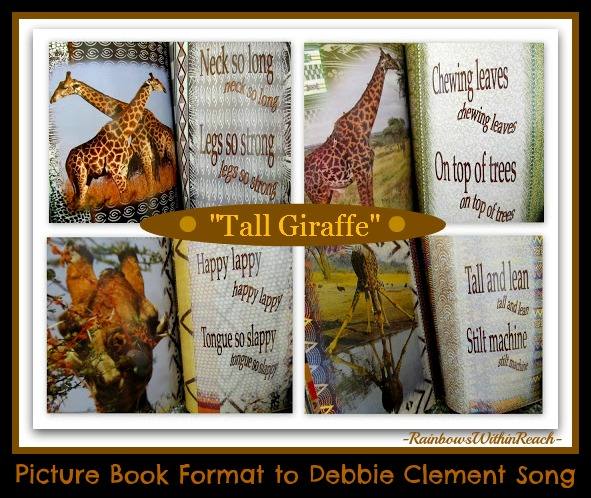 """Tall Giraffe"" featuring Photographs (incorporating non-fiction) taken in Africa via RainbowsWithinReach"