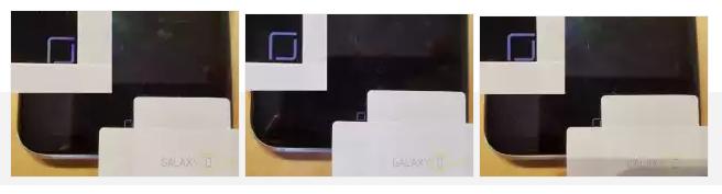 Tampilan tombol home virtual Samsung Galaxy S8 tidak selalu di daerah yang sama