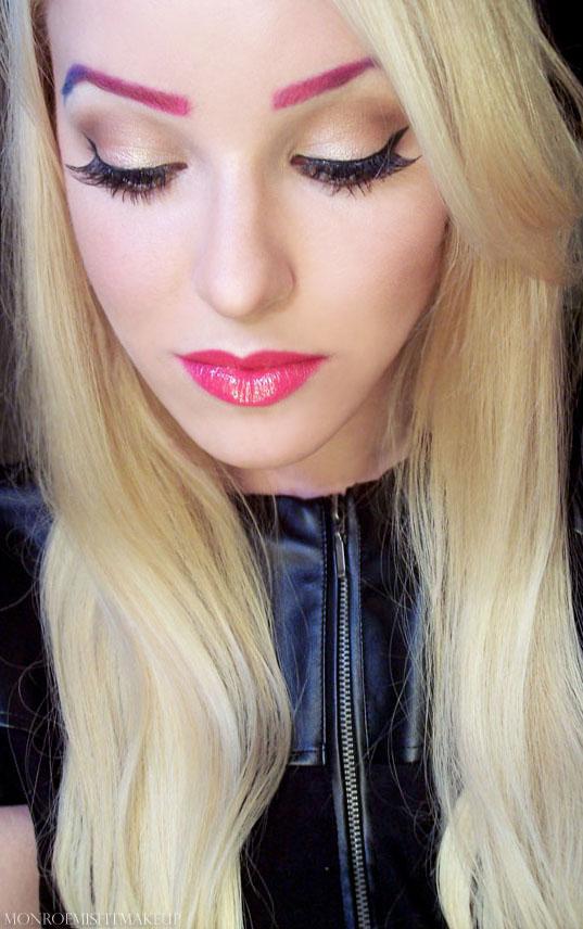 Monroe Misfit Makeup Beauty Blog Review Amp Look