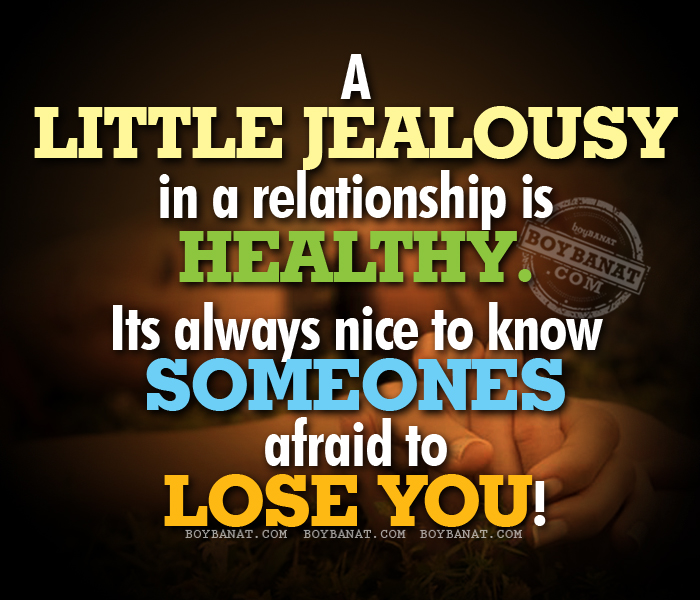 Jealous Love Quotes and Sayings Collection ~ Boy Banat