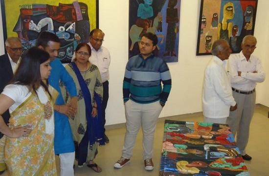 Jaipur, Rajasthan, Jawahar Kala Kendra, Paintings, Painting Exhibition, Jaipur News, Art and Culture, Rajasthan News