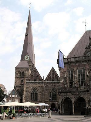 Liebfrauenkirche; Marktplatz; Bremen; Brême; Alemania; Deutschland; Germany; Allemagne