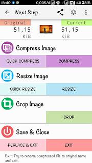Cara Compress File Gambar menggunakan Aplikasi Photo Compress 0.2