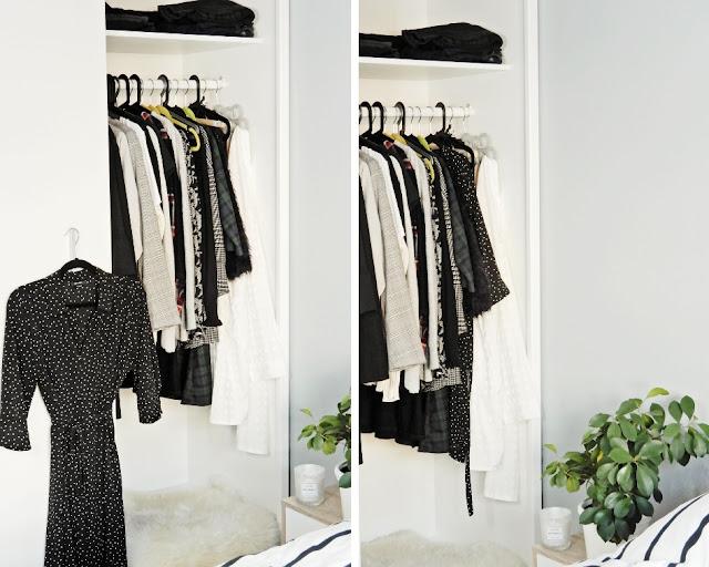 capsule wardrobe, jak stworzyć capsule wardrobe, jak polubić swoje ubrania, funkcjonalna szafa, szafa kapsułkowa,