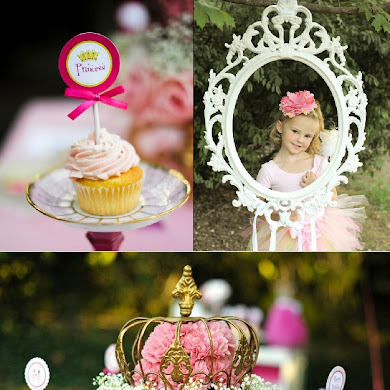 A Pink Fairytale Princess Birthday Party