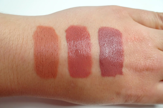 sephora rouge mat boy oh boy!, too faced melted liquified longstay lipstick chihuahua, sephora cream lip stain 23 cooper blush