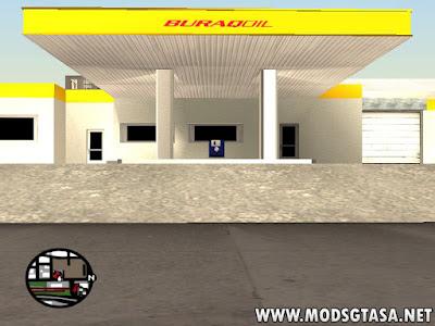 Novo Posto de Gasolina Fuel Station em San Fierro
