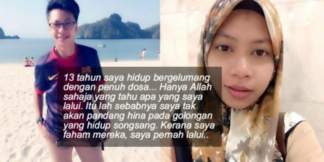 Wanita Cantik ini Bertobat Setelah 13 Tahun Hidup Jadi Pecinta Sejenis