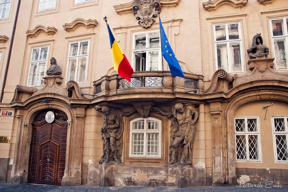Ambasada României la Praga