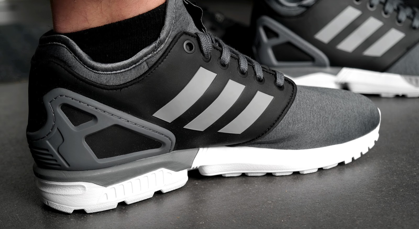adidas zx flux nps 2 0 onyx foot locker exklusiv der. Black Bedroom Furniture Sets. Home Design Ideas