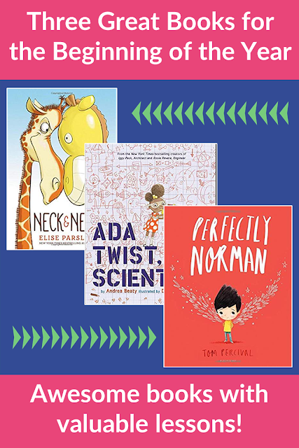 These three books are perfect for back to school read alouds!