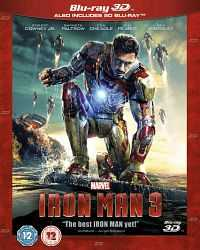 Iron Man 3 (2013) 3D Movies HSBS Hindi +Telugu + Tamil + Eng Download 1080p