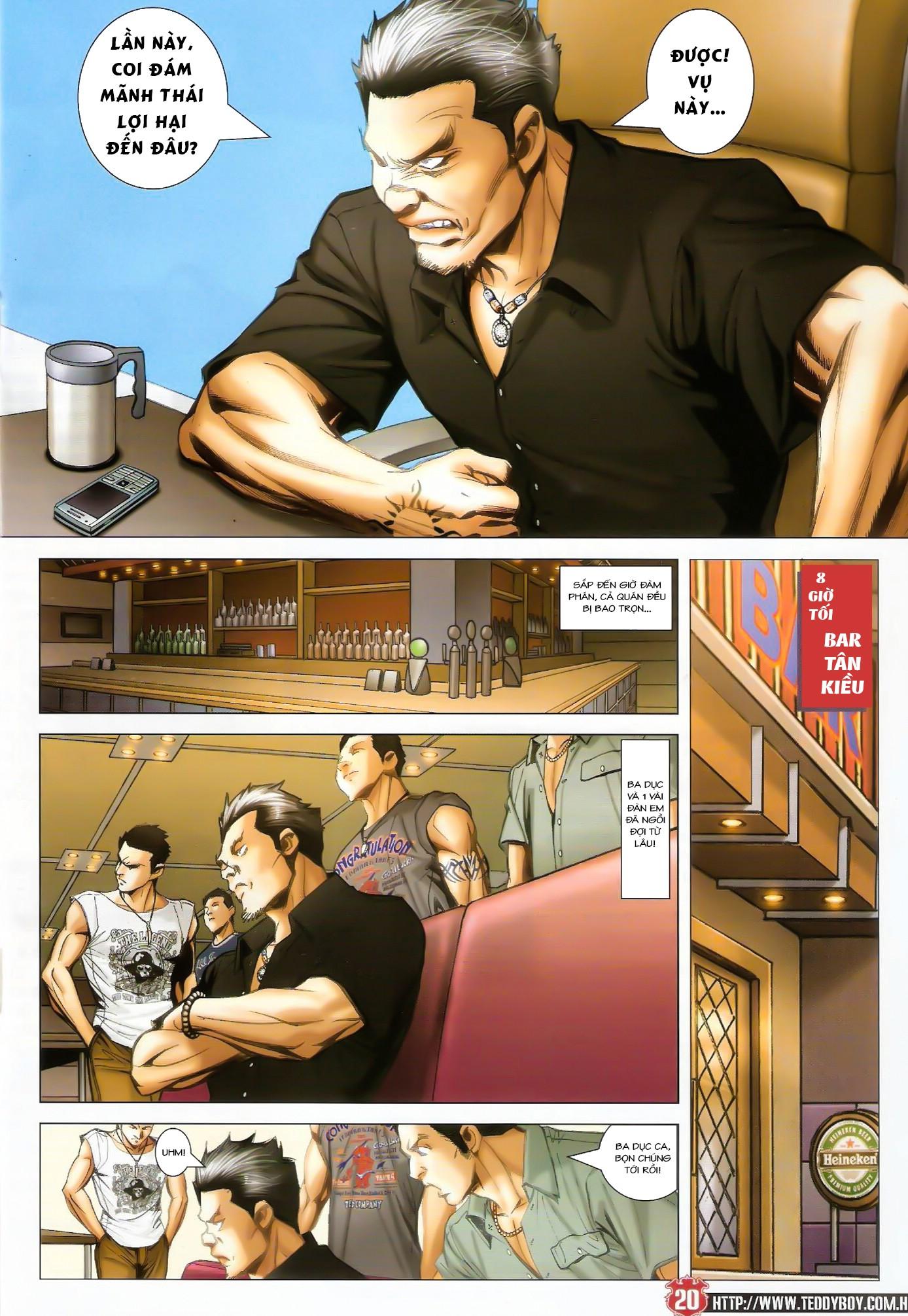 Người Trong Giang Hồ NetTruyen chap 1424 - Trang 17