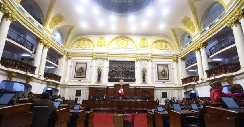 CONGRESO DE LA REPÚBLICA: Hoy se instalan doce comisiones parlamentarias para el periodo 2019-2020