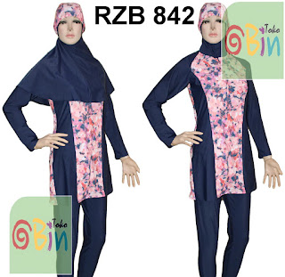 baju renang syari RZB 842