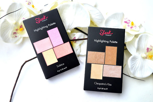 Sleek highlighter palette review