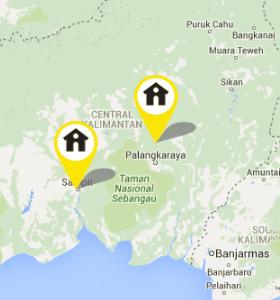 Alamat Galeri Indosat Wilayah Kalimantan
