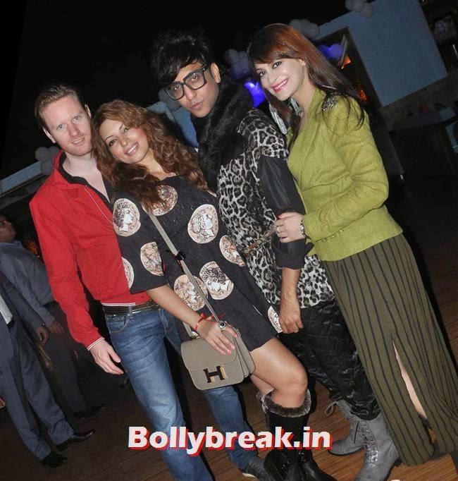 Alex O'Neil Shama Sikander Rehan Shah Candy Brar, Mumbai Page 3 Celebs at Rehan Shah Birthday Party