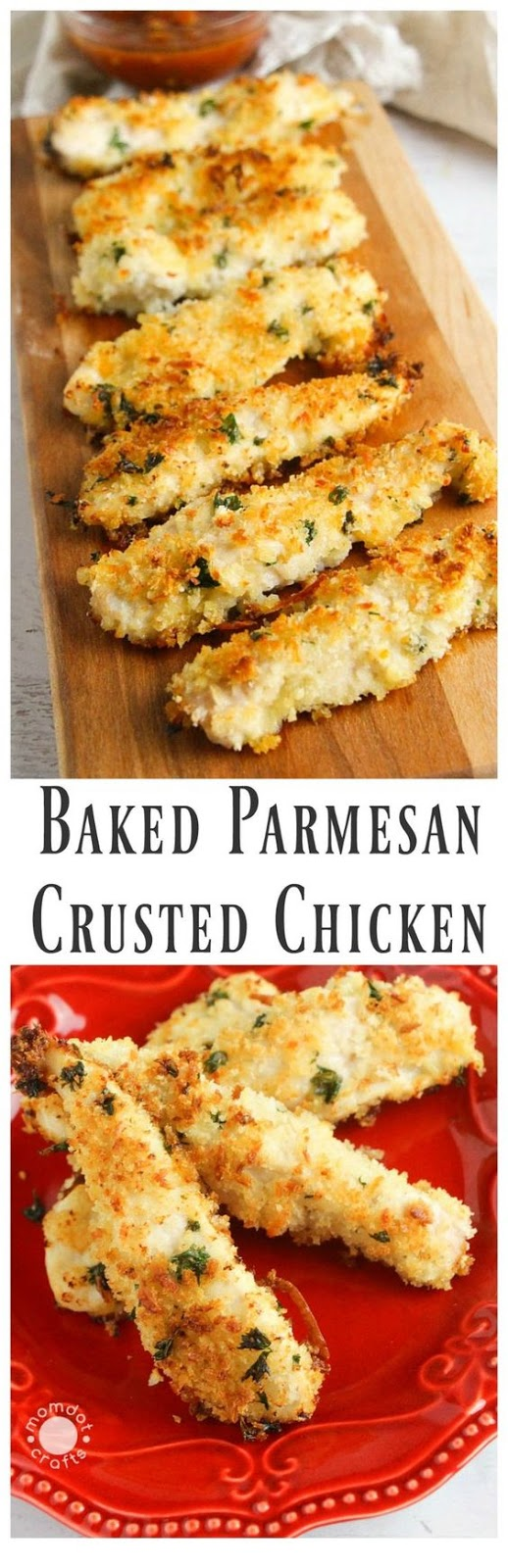 Baked Parmesan Crusted Chicken Cucina De Yung