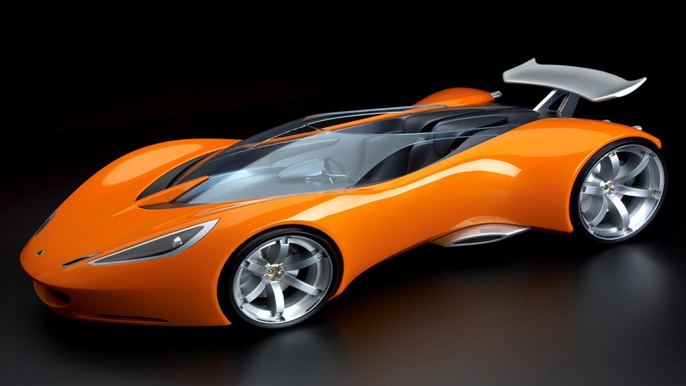 Wallpaper Mobil Hd Orange  Wallpaper Mobil