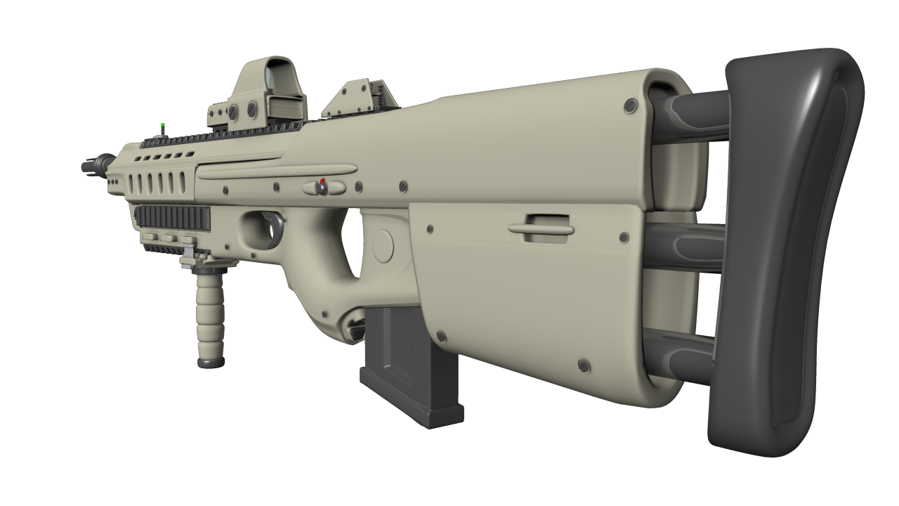 Omgrind Soldier Assault Rifle