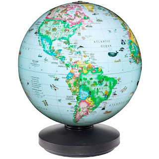 Rotating Globe for Kids