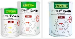 Harga Terbaru Susu Appeton Weight Gain di Carefour