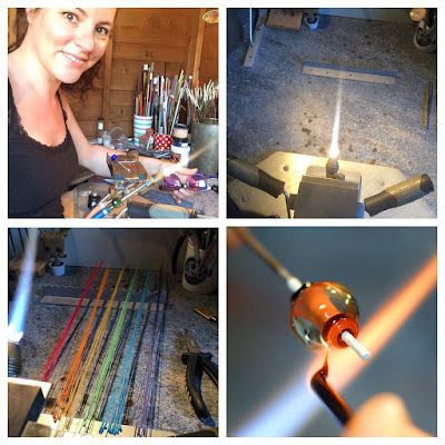 Come to my shed in Cambridge and I'll teach you how to make glass beads