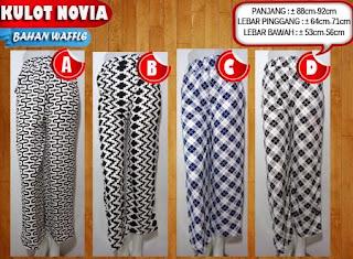 Jual celana wanita model celana kulot untuk wanita muslimah motif trendy paling laris harga termurah