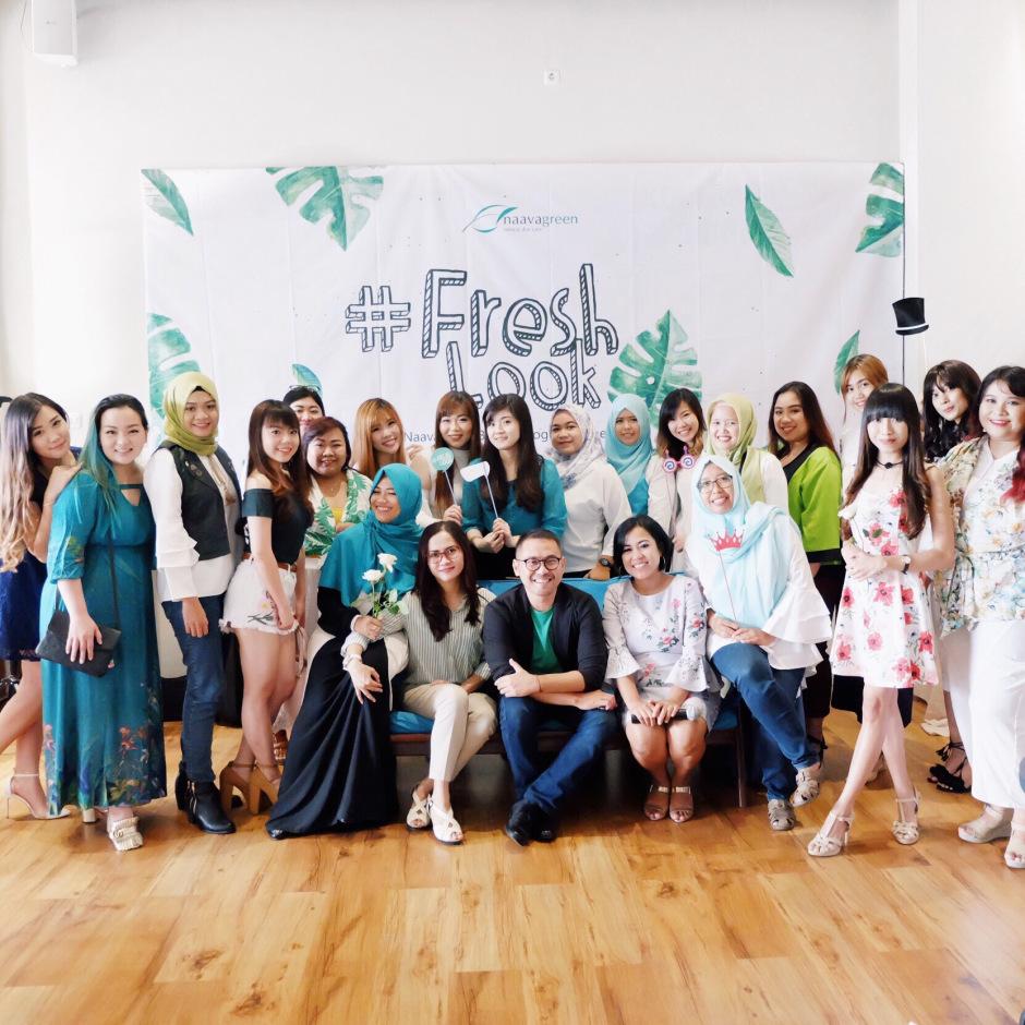 Naavagreen Beauty Blogger Gathering Di Surabaya Freshlook