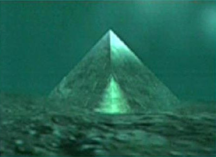 Is there a crystal pyramid below the Bermuda Triangle ... |Pyramid Bermuda Triangle