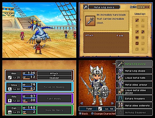 PGs Game Room Old Review Dragon Quest IX DS
