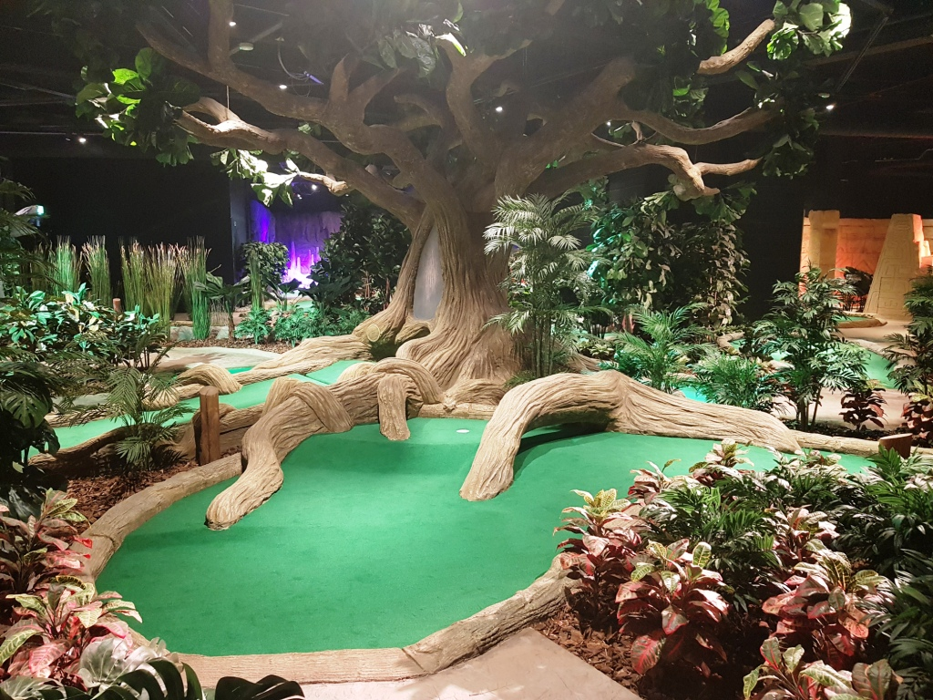 The Ham And Egger Files Treetop Adventure Golf Opening In