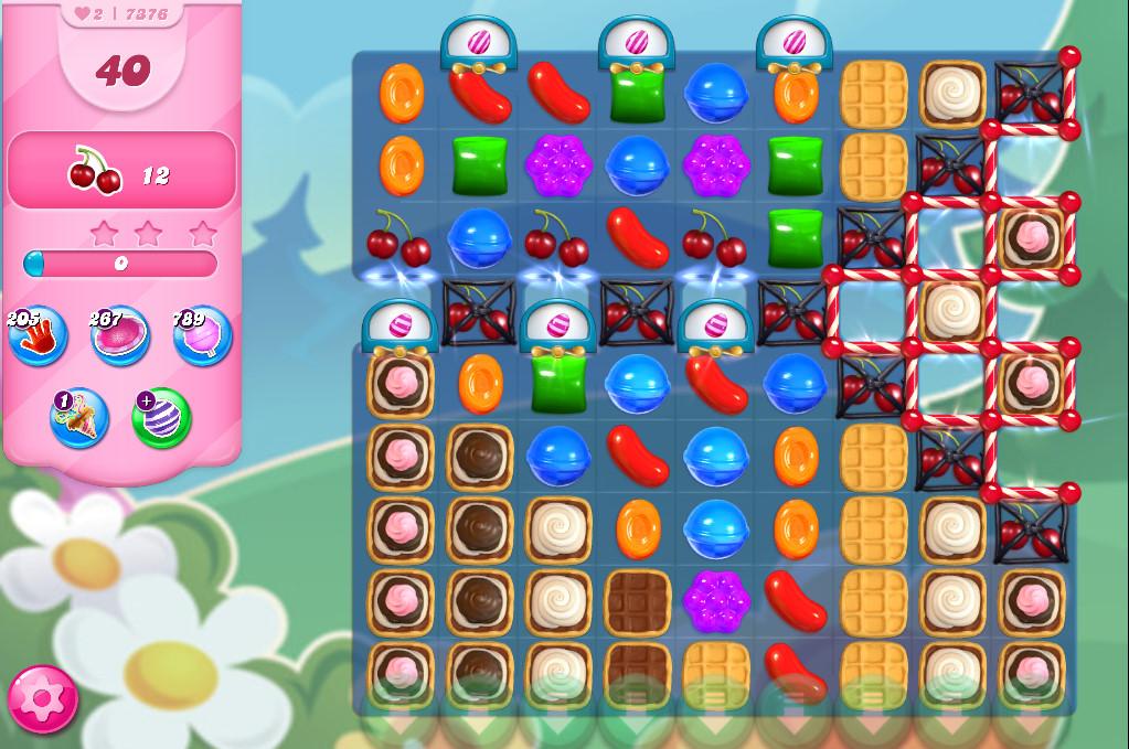 Candy Crush Saga level 7376