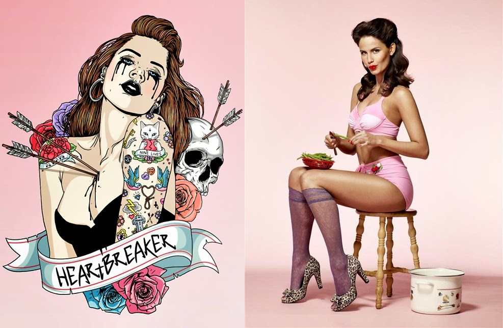 Iets Nieuws Pop Culture And Fashion Magic: Pin up girls and pin up tattoos – a #NI68