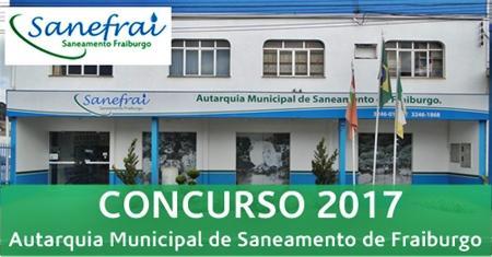 Apostila Concurso SANEFRAI Friburgo 2017
