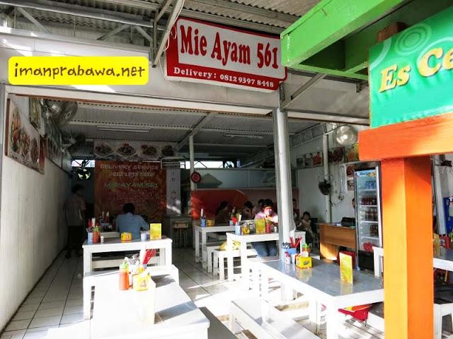 Lokasi Mie Ayam 561