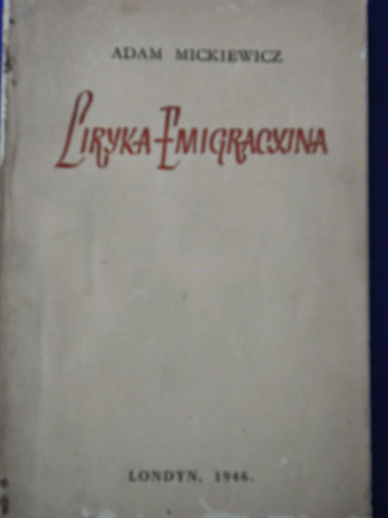 La Pluma Libros Liryka Emigracyjna Poesia En El Exilio