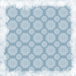 snow flake christmas digital paper background grunge frame