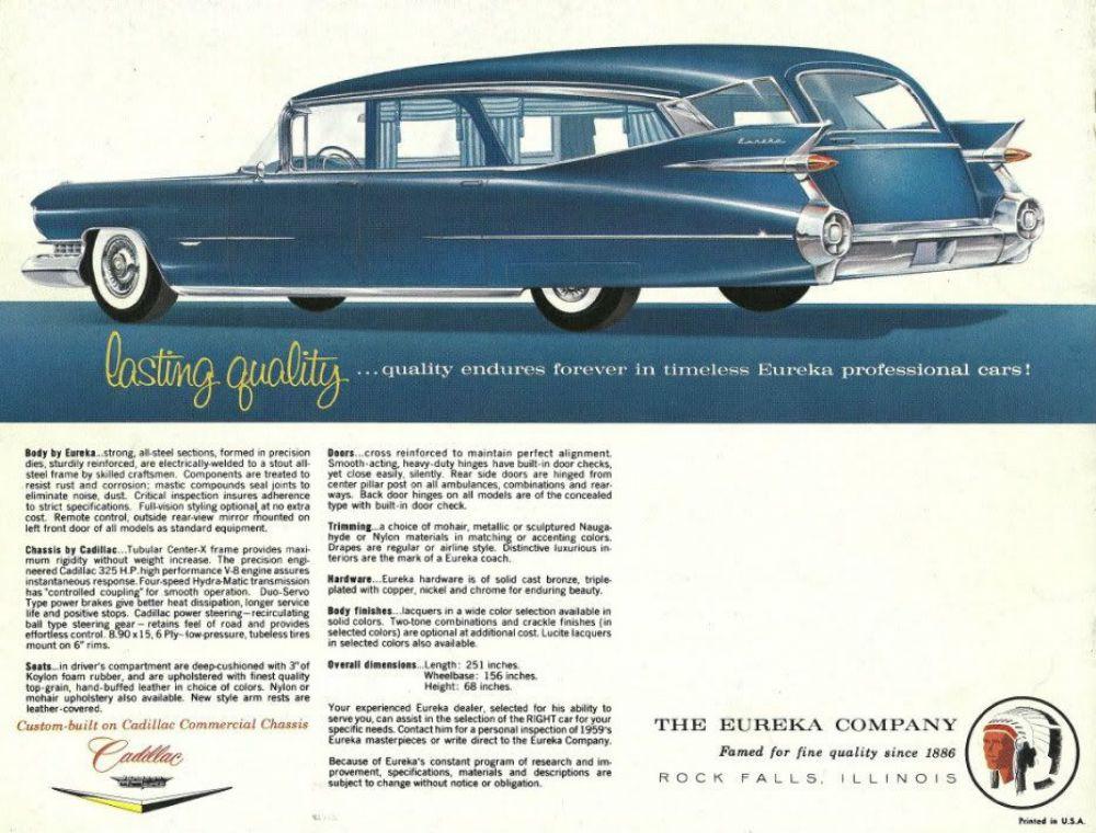 For Your Last Ride: 26 Beautiful Vintage Hearse Brochures