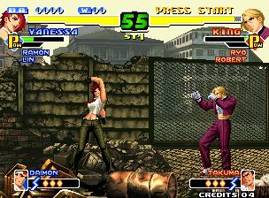 The king of Fighters 2000+arcade+game+portable+retro+fighter+videojuego+descargar gratis