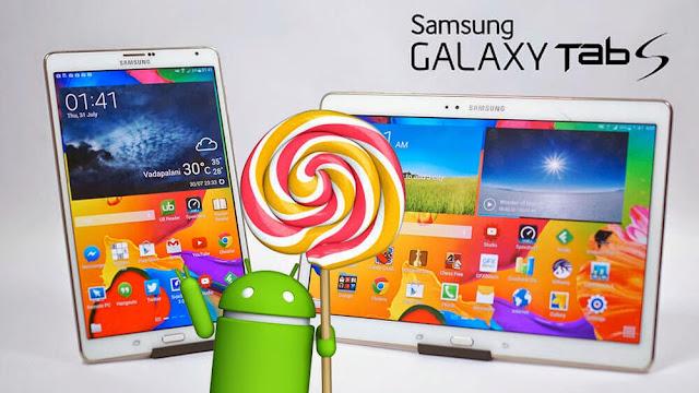 Samsung Galaxy Tab S 8.4 Lollipop update