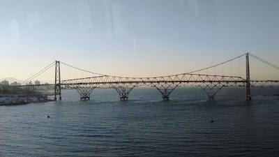 Ponte Hercílio Luz Entardecer by Edy Comerlatto