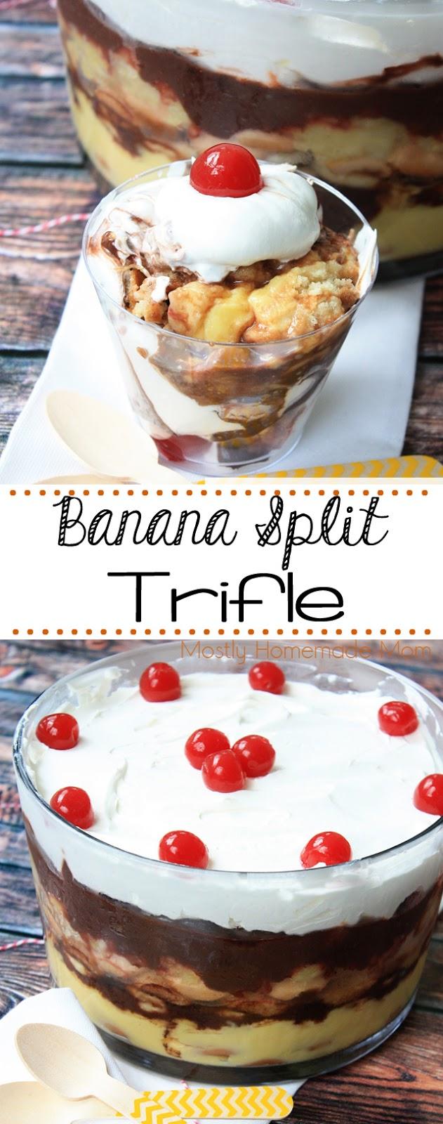 banana split trifle facebook