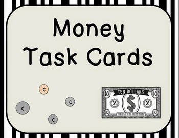 http://www.teacherspayteachers.com/Product/Money-Task-Cards-1032380