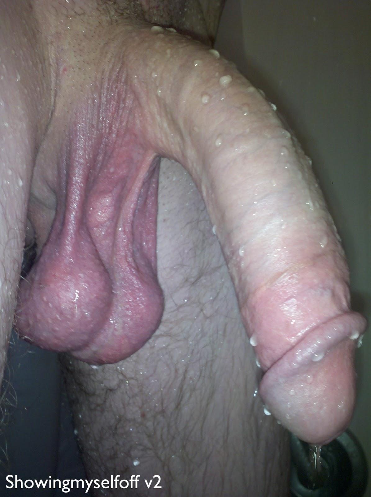 Big dick close up