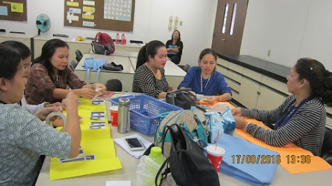 JFC-Coop Sponsors Training of Elementary School Mathematics Teachers in Geometry and Algebra