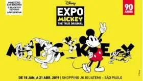 Exposição 90 Anos Mickey Mouse 2019 Shopping JK Iguatemi - Ingressos